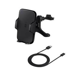 MyXL Qi Snelle Draadloze Autolader Opladen Houder Air Vent Mount Voor Smart Telefoon