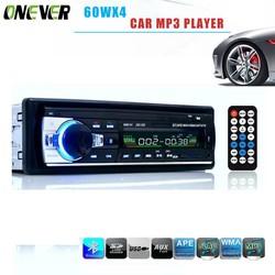 MyXL 60WX4 Autoradio 12 V Bluetooth V2.0 Auto Audio Stereo In-dash 1 Din FM Aux Ingang Ontvanger SD USB MP3 MMC WMA Autoradio Mp3 speler