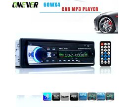 60WX4 Autoradio 12 V Bluetooth V2.0 Auto Audio Stereo In-dash 1 Din FM Aux Ingang Ontvanger SD USB MP3 MMC WMA Autoradio Mp3 speler