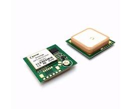 ublox6010 GPS ontvanger Module met Antenne RS232 uitgang is compatibel met NEO-6M protocol, 9600 baudrate, perfo