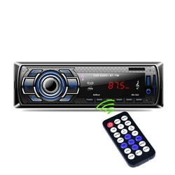 MyXL 1Din In-Dash Auto Radio Bluetooth Stereo Speler Handsfree AUX-IN USB/Sd-kaart Mp3-speler 12 V Auto Audio Fm Radio