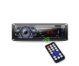 1Din In-Dash Auto Radio Bluetooth Stereo Speler Handsfree AUX-IN USB/Sd-kaart Mp3-speler 12 V Auto Audio Fm Radio