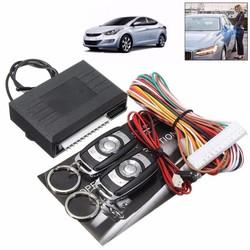 MyXL Universele Alarmsystemen Car Auto Centrale Kit Deurvergrendeling Locking Voertuig Keyless Systeem Met Afstandsbedieningen
