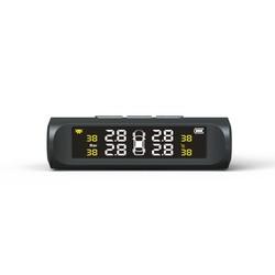 MyXL TUAO TPMS Auto Detector Bandenspanningscontrolesysteem Zonne-energie Display (niet bevatten sensoren)
