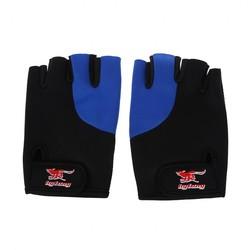 MyXL 2 Stks Zwart Blauw Neopreen Vingerloze Sport Handschoenen voor Mannen