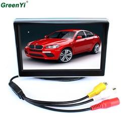 MyXL TFT Lcd-monitoren 5 inch Auto monitor Video Speler Elektronische Screen 2CH Video Voor Auto Achteraanzicht Camera Apparatuur
