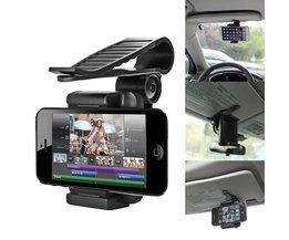 Auto Universele Auto Zonneklep Telefoon Mount Houder Stand Voor PDA GPS Telefoon Camera Digitale DVR Drop