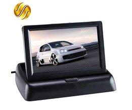 """Auto Monitor 4.3 """"Display voor Achteruitrijcamera Opvouwbaar Kleur TFT LCD 4.3 Inch HD Scherm Voor Car Reverse"""
