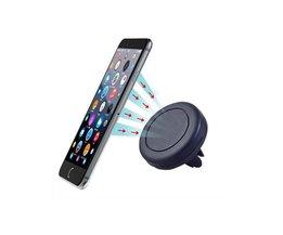 Universele Auto Air Vent Mount Houder Stand Magnetische Mobiele Telefoon houder voor iphone 7 6 s voor samsung mobiele telefoon tablet GPS