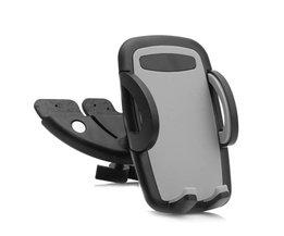 Auto Auto CD Speler Slot Houder Cradle Stand Voor Mobiele Smart Telefoon GPS