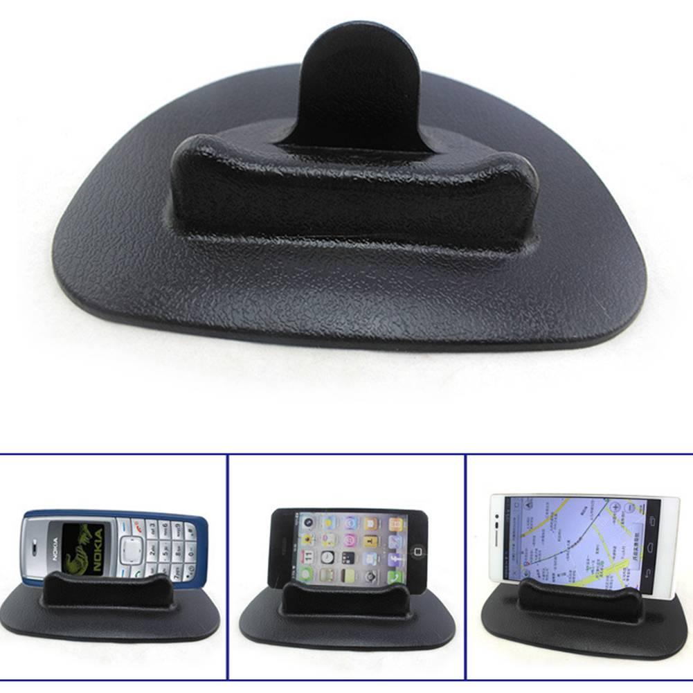 Zwarte Auto Mobiele Telefoon Houder Dashboard Sticky Pad Mat Anti Non Slip Gadget GPS Interieur Item