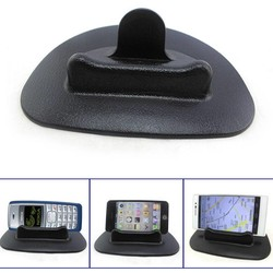 MyXL Zwarte Auto Mobiele Telefoon Houder Dashboard Sticky Pad Mat Anti Non Slip Gadget GPS Interieur Item Accessoires