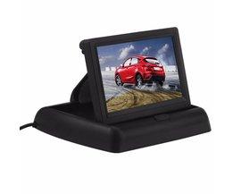 "PodofoKoop Auto Monitoren 4.3 ""TFT Lcd-scherm Rear View Monitor Screen Digitale Panel Kleur Auto Achteruitrijcamera Auto Video Speler"