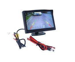 800*480 auto omkeren monitor brengen hd lcd-scherm en plastic shell materiaal fit voor verschillende soorten van cars
