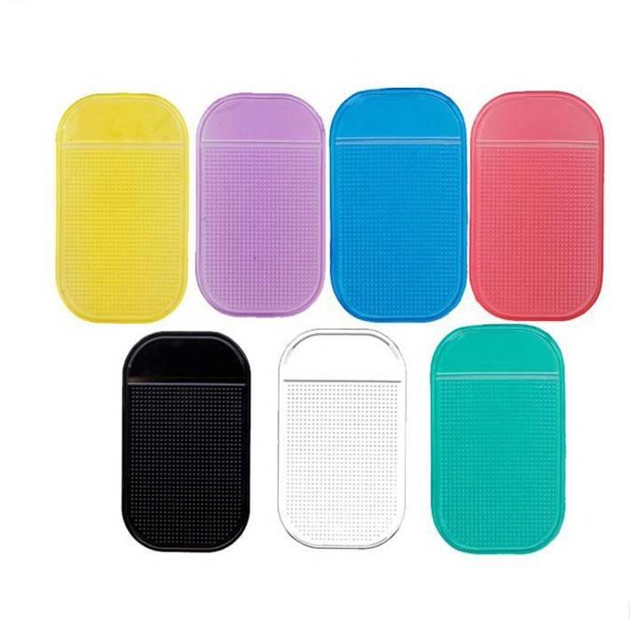 2 stks automobiles antislip mat auto-interieur accessoires voor iphone 6 7 mobiele Telefoon mp3 mp4