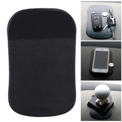 MyXL Auto-interieur Dashboard Mount Dikke Anti Skid Mat Pad Sticker zwart PU Antislip Dash Mat Sticker voor Telefoonkoop