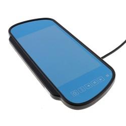 MyXL Koop 7 inch TFT LCD Car Achteruitkijkspiegel Monitor Ondersteuning V1 V2 2 Manieren Video-ingang Voor Reverse Backup Camera Met Afstandsbediening controle