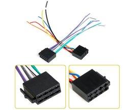 Universele ISO Kabelboom Vrouwelijke Adapter Connector Kabel Radio Bedrading Connector Adapter Plug Kit voor Auto Stereo Systeem
