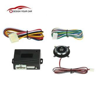 Universele Auto alarmsysteem Motor Push Start Stop Knop Auto Ontsteking remote Starter voor Peugeot 307 Toyota Ford VW Mazda