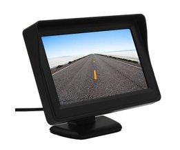 Koop 4.3 Inch Kleuren TFT LCD Auto Monitor 480x272 Digitale Panel met 2-kanaals Video-ingang Voor Achteruitrijcamera Of DVD GPS