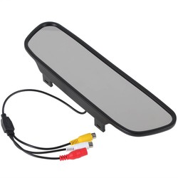 MyXL 5 Inch TFT LCD Brede Kijkhoek Auto Achteruitkijkspiegel Monitor Parking + 18mm Kleur Waterdichte Auto Achteruitkijk Achteruitrijcamera