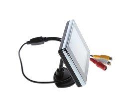 """3.5 """"Mini TFT Lcd-kleurenbeeldscherm Screen DVD VCD Voor Auto Achteruitrijcamera Backup Camera"""