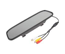 Auto Spiegel Monitor 4.3 inch Kleur Digitale TFT-LCD Screen Auto Achteruitkijkspiegel Monitor 480x272 Auto Monitor