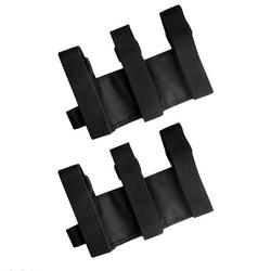 MyXL Zwart Roll Bar Brandblusser Houder Auto Styling Voor Jeep Wrangler TJ YJ JK CJCollectie Nylon Bandjes