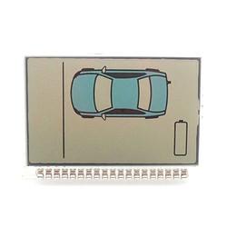 MyXL nieuwekoop ZX1050 lcd voor sheriff ZX-1050 lcd afstandsbediening/twee weg auto alarm systeem