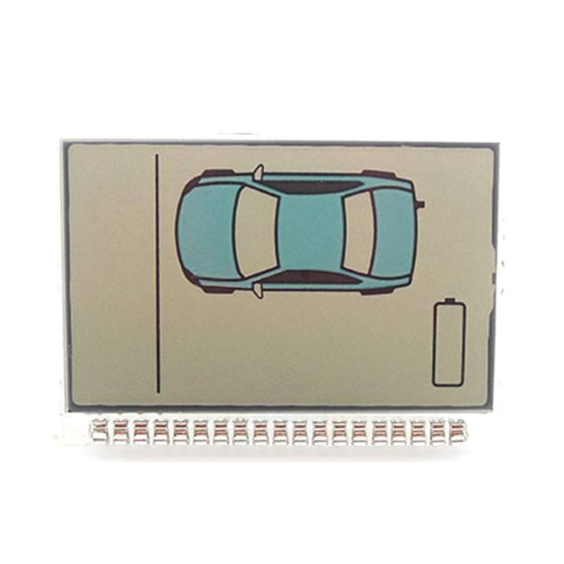 c8cc5e5c91c MyXL nieuwekoop ZX1050 lcd voor sheriff ZX-1050 lcd afstandsbediening/twee  weg auto alarm