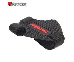 Rubber Materialen Motorfiets Opknoping bestand schoen covers/Verandering hendel bescherming inlegzolen HEROBIKER H-9002