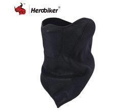 HEROBIKER Motorcycle Masker Motorfiets Winddicht Stofmasker Motorfiets Winter Proof Anti Fog Half Gezichtsmasker Moto Bivakmutsen
