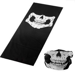 MyXL Outdoor Motorfiets Fiets Ridding Maskers Sjaal Half Gezichtsmasker Cap Hals Ghost Schedel Voor Party CS Halloween Decoratie