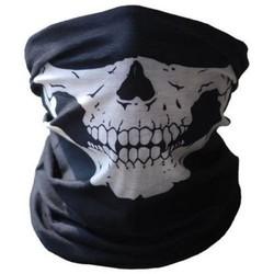 MyXL KWOKKER Motorfiets Schedel Masker Halloween Cosplay Fiets Ski Skull Masker Half Gezichtsmasker Ghost Sjaal Halswarmer schedel Party Masker
