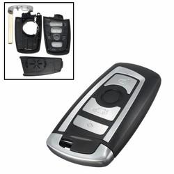 MyXL 4 Botton Ongesneden Blade Fob Afstandsbediening Sleutel Shell Case F10 F20 F30 F40 Serie Voor BMW 1 3 5