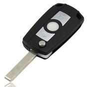 Vervanging Shell Flip Folding Flip Key Case Hoge Quaity Zwarte Remote Case Voor BMW E81 E46 E39 E63 E38 E83 E53 E36