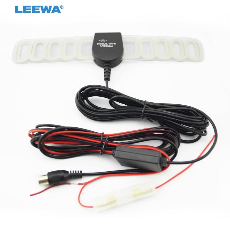 Auto IEC Actieve antenne met ingebouwde versterker voor digitale TV # CA954