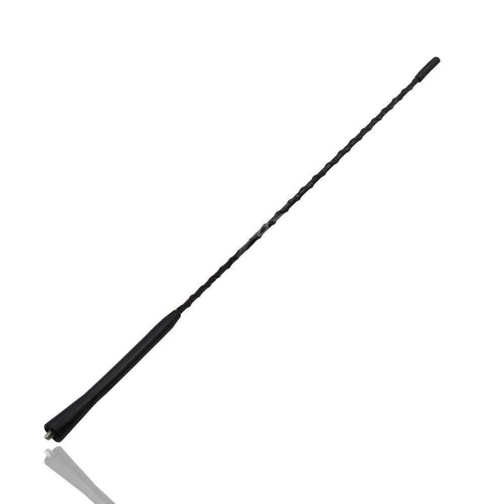 Auto Auto 16 dak Mast Whip Radio Fuba Antenne Antenne Voor VW Jetta Golf GTI Passat Zwart Styling