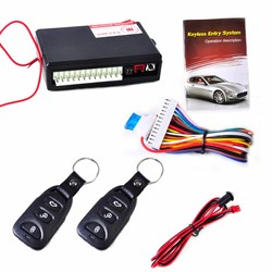 MyXL DWCX Auto Keyless Afstandsbediening Centrale Deurvergrendeling Controller Kit Voertuig Entry Systeem voor Ford Focus Audi A4 VW Golf Kia Rio