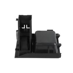 MyXL HLEST Plastic Zwart Front Premium Middenconsole Opslaan Muntautomaat voor BMW E46 318 320 325 330 1998-2005 Geld Opslag doos