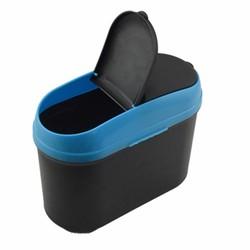 MyXL 1 stks Mini Vierkante Auto Prullenbak Vuilnis Voor Car Office Home Auto trash Vuilnis Houder Prullenbak @