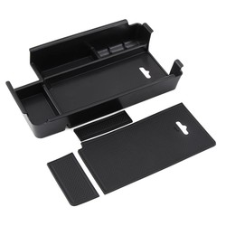 MyXL Middenarmsteun Opbergdoos Container Houder Lade voor Audi A4 B9Accessoires Auto Organizer Auto Styling