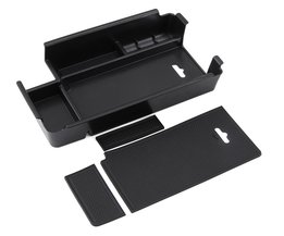 Middenarmsteun Opbergdoos Container Houder Lade voor Audi A4 B9Accessoires Auto Organizer Auto Styling