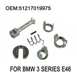 MyXL E46 Deurslot Reparatieset Fit BMW E46 3 Serie 323i 323c 323ci 325i 325xi 325c 325ci 328i M3 Vat Cilinder 1998-2006