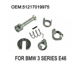 E46 Deurslot Reparatieset Fit BMW E46 3 Serie 323i 323c 323ci 325i 325xi 325c 325ci 328i M3 Vat Cilinder 1998-2006