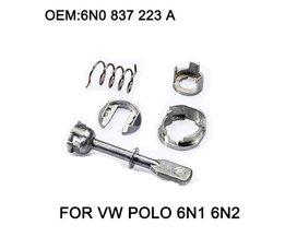 5 Stuk Auto Ijzer Deurslot Cilinder Reparatie Kit Vw POLO 6N1 6N2 1997-2002 Linker of Rechts OE #6N0 837 223A