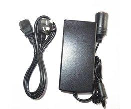 AC-DC 100-240 V naar 12 V 8A Sigarettenaansteker Auto Voeding Adapter Koelkast Stofzuiger Schakelende Supplys 220 V
