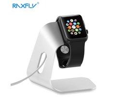 RAXFLY Smartwatch Houder Stand Universal Dock Charger voor Apple Horloge voor iWatch 42mm 38mm Aluminium Draagbare Laadstation