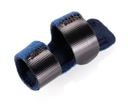 1 Stks Pijnbestrijding Aluminium Vinger Spalk Fractuur Bescherming Brace Corrector Ondersteuning Met Verstelbare Tape Bandage #255335