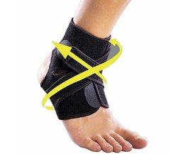 Enkelbrace Verstelbare Sport Elastische Enkel Ondersteuning Ademend Wrap Pad Voet Bescherming Sport Pijnbestrijding Enkel Bescherming Brace